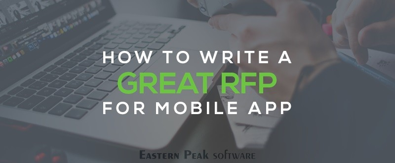 How to write a great mobile RFP