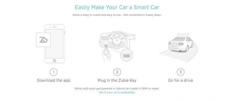 zubie-automotive-app-website-screenshot
