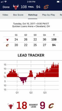 NBA-app